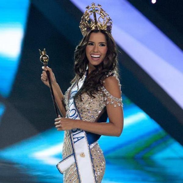 Paulina Vega representante del departamento de Atlántico es elegida Señorita Colombia 2013-2014.