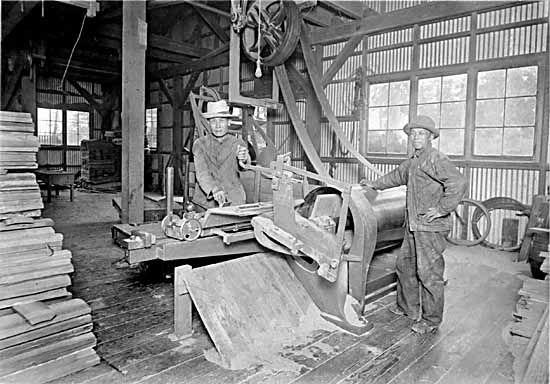 men working at Sweney Cooperage
