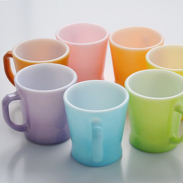 Ooooh If I Could Find A Purple Pyrex Coffee Cup Would Be Over The Moon