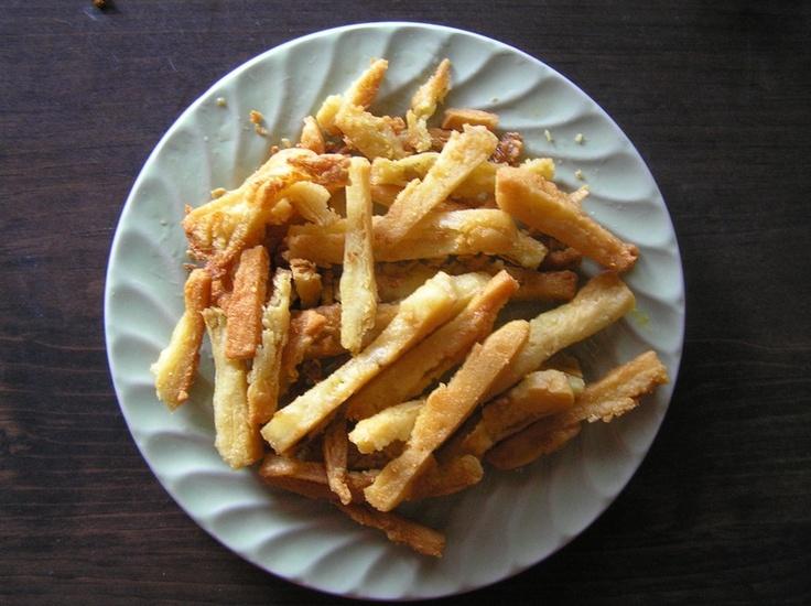 Garbanzo Bean Fries, gotta try these.