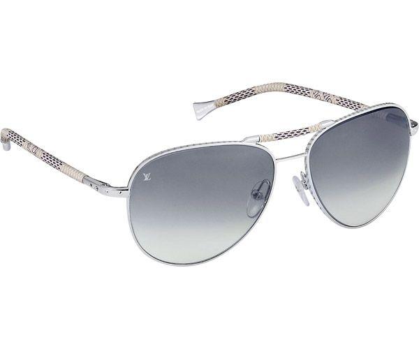 louis vuitton eyewear for men | Louis Vuitton Men's Conspiration Pilote Canvas Sunglasses | Men's ...