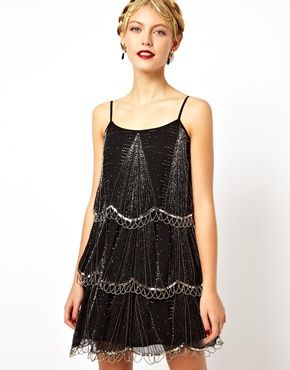 20s style dress asos shoes