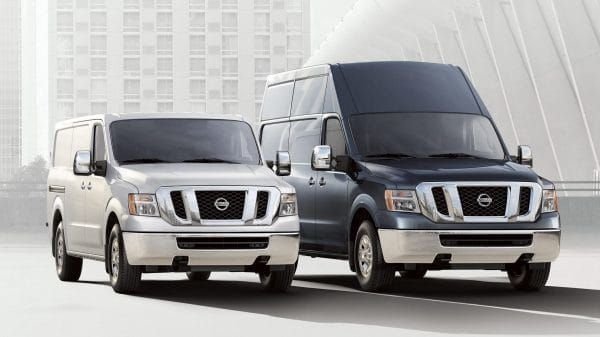Nissan Nv Cargo Standard Roof And Nv Cargo High Roof Cargo Van Cargo Nissan