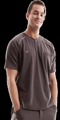 Finally New Balance for Men! This Rogue scrub top features an athletic fit. Order now before they sell out!