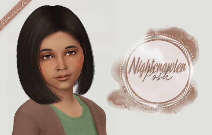 Simiracle: Nightcrawler`s Posh hair retextured - Kids Version  - Sims 4 Hairs - http://sims4hairs.com/simiracle-nightcrawlers-posh-hair-retextured-kids-version/