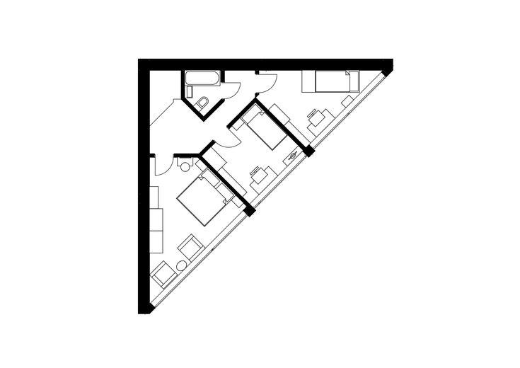 best 25  triangle house ideas on pinterest