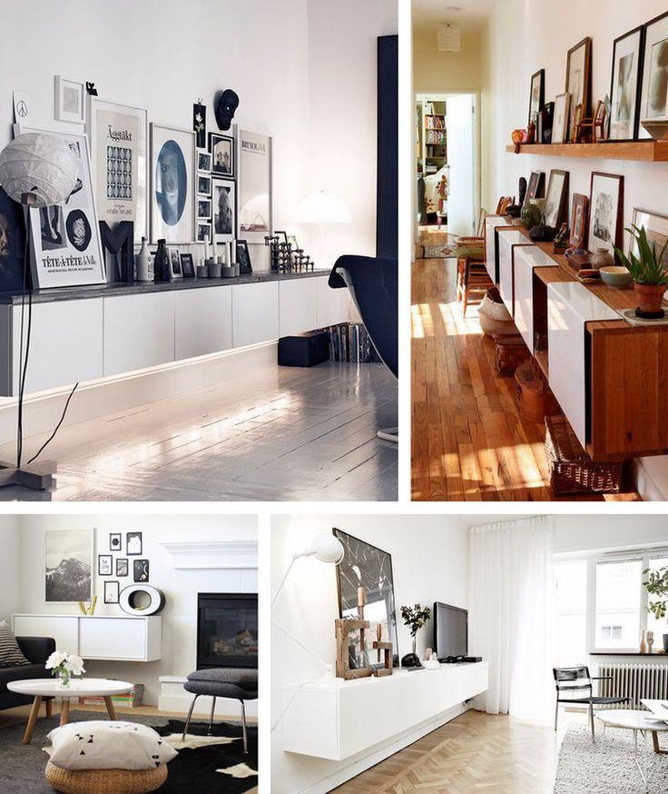 Les 54 meilleures images du tableau d co salon sur pinterest d corations pour la maison - Deco buffet salon ...