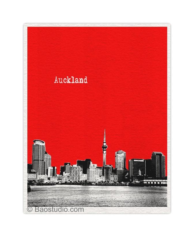 Auckland New Zealand Art Print | Pine Shore  #LetsGetLost