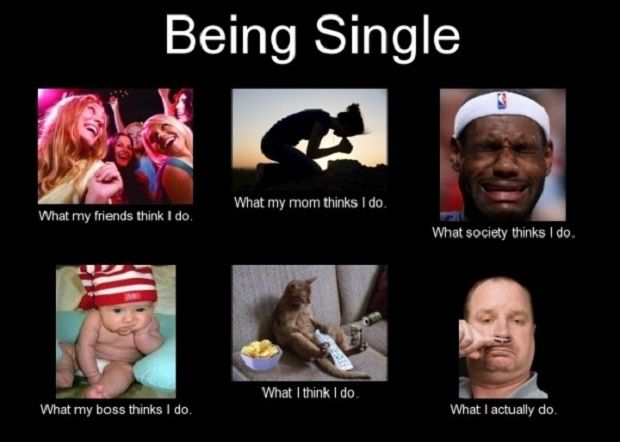 45 Best Funny Memes About Being Single Funny Meme Memes Humor Comics Fun