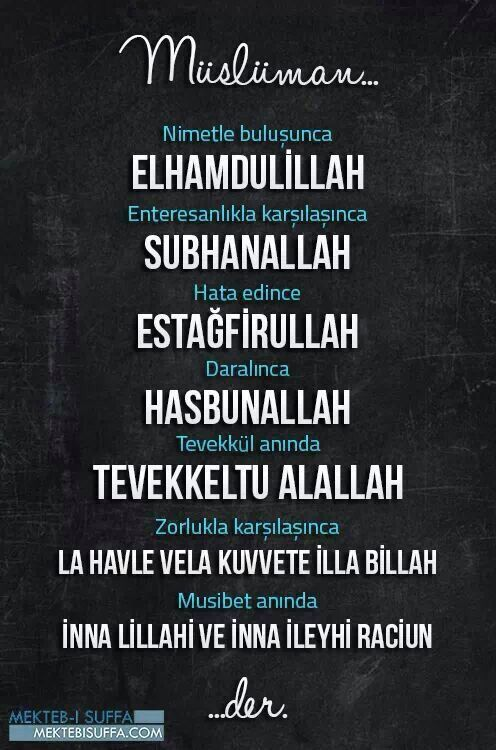 Müslüman...