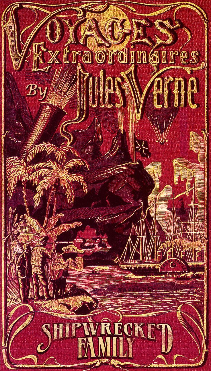 Book Cover Portadas Vintage : Best jules verne images on pinterest