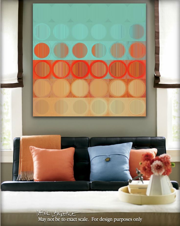 Circles and Squares #23. Modern Abstract Fine Art