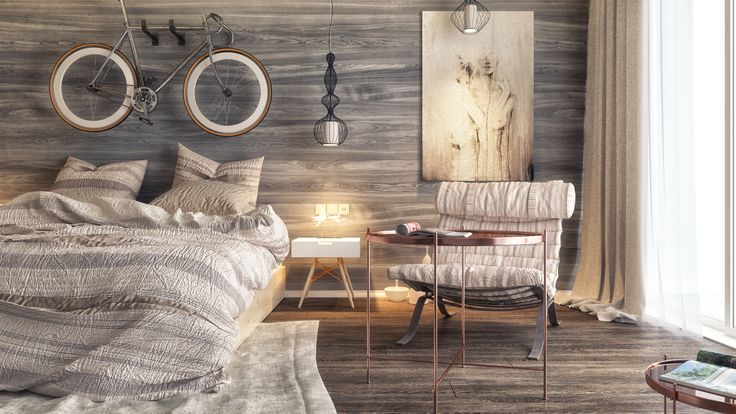 """Check out this @Behance project: """"Bedroom No.2"""" https://www.behance.net/gallery/33174763/Bedroom-No2"""