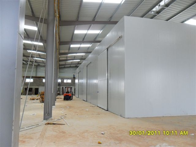 Cold Storage project by Africhill - Angola Fruit http://www.aboard.co.za/