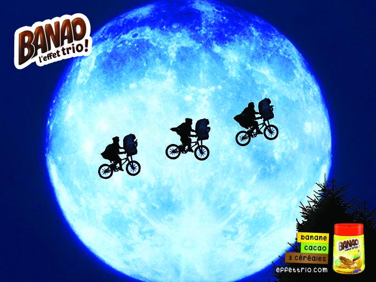 BANAO Campaign - L'effet trio - E.T.