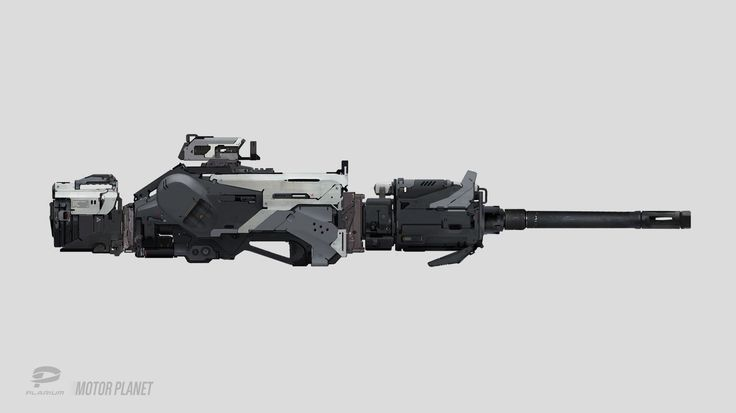 Heavy machine gun, Tipa_ Graphic on ArtStation at https://www.artstation.com/artwork/PG8Rn