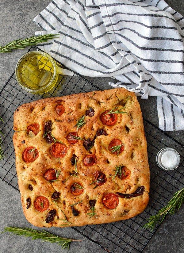 Rosemary and Sea Salt Vegan Focaccia - Top Food Facts