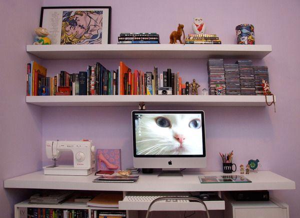 desktop shelves ideas - photo #44