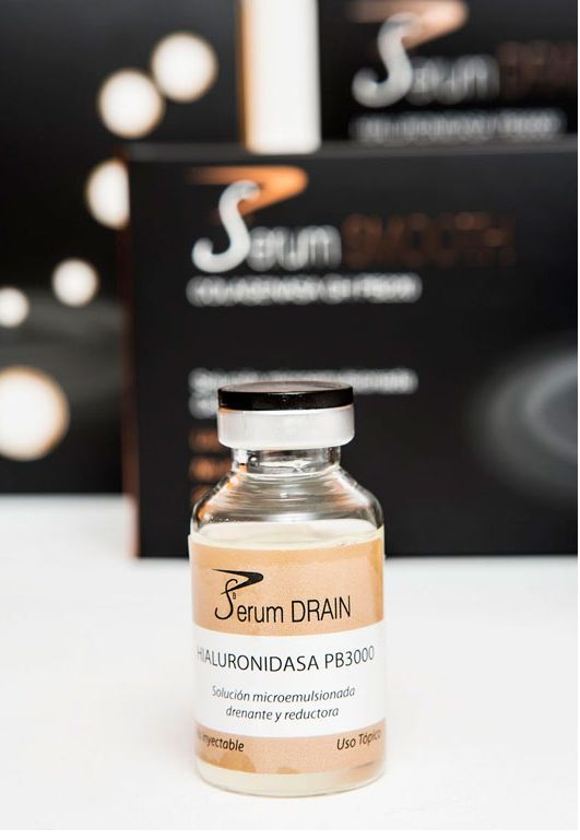 PBSerum Drain. Hyaluronidasa 20 ml