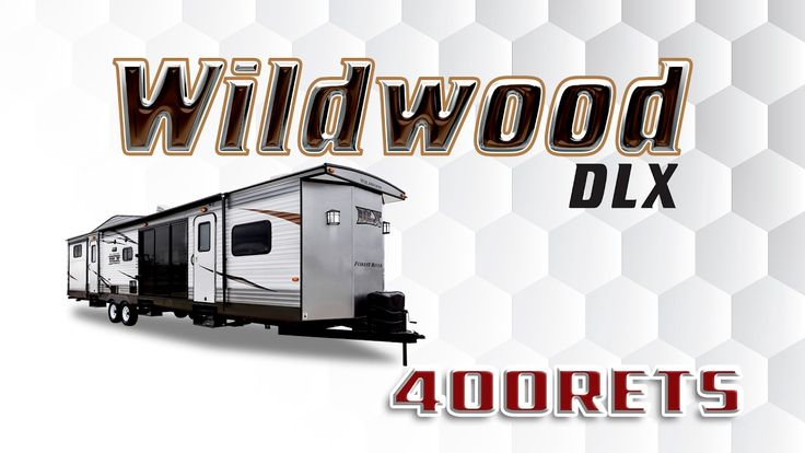 2017 Forest River Wildwood DLX 400RETS Park Trailer Lakeshore RV Find out more at https://lakeshore-rv.com/forest-river-rv/wildwood-dlx/2017-wildwood-dlx-400rets-floor-plan/?pr=true call 231.788.2040 or stop in and see one today!  Wildwood DLX 400RETS Find your next escape in the Wildwood DLX 400RETS!  As you walk up to this park trailer youll notice the huge windows on the front and a sliding glass patio door on the side that let tons of natural light inside!  Resting on the hitch are dual…