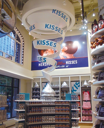 Hershey Store In Downtown Chicago