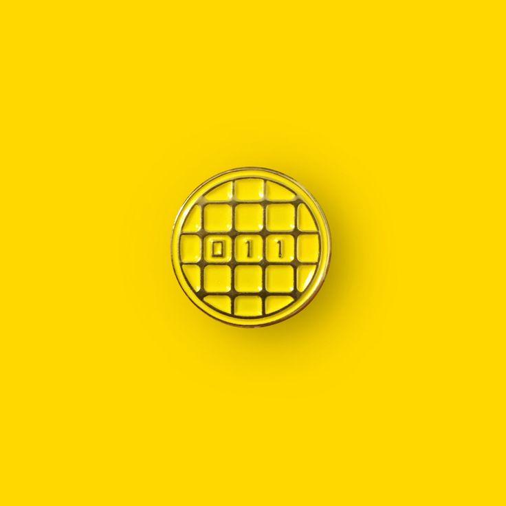 Stranger Things Waffle Enamel Lapel Pin by TheWildWildPress on Etsy https://www.etsy.com/listing/474652695/stranger-things-waffle-enamel-lapel-pin