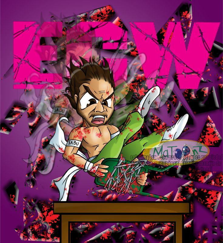 ECW - Death Defying Maniac SABU by Matoonz