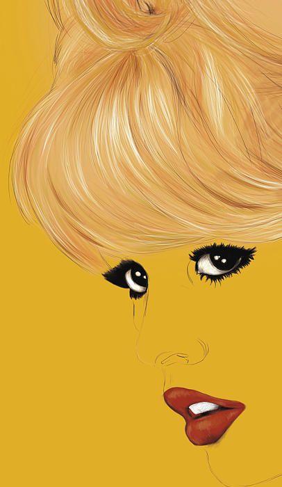 Brigitte Bardot Fine Art Print