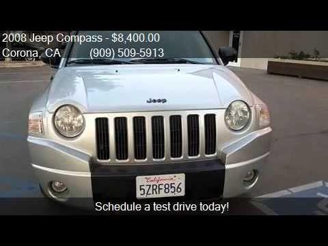 2008 Jeep Compass Sport 4dr SUV w/CJ1 for sale in Corona CA http://youtu.be/9Rb7Z_z_ddg