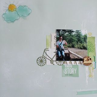 Scrapbooking Crafts: Страница story