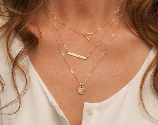 Stitch fix jewelry! Cute necklace! Try stitch fix!