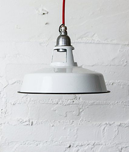 FARSLEY | enamel pendant light | dover chalk - Lipstick-red FARSLEY http://www.amazon.co.uk/dp/B00Q7JUK4Y/ref=cm_sw_r_pi_dp_gpdPvb0EGAVXB