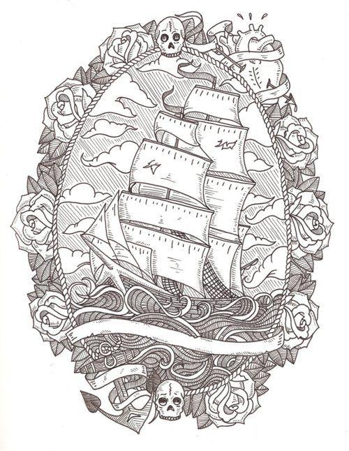 Sailor theme/ornate borders