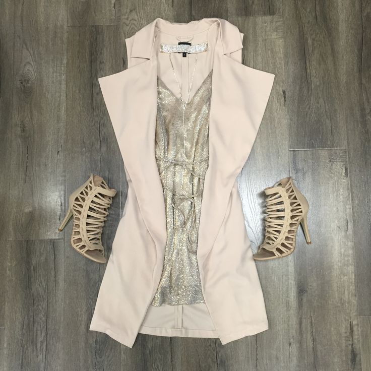 Khloe Nude Vest ONE LEFT