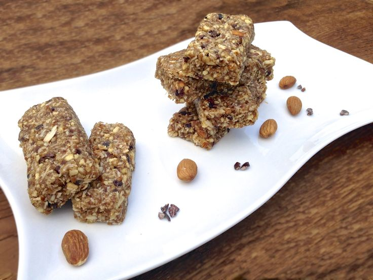 Cacao Nibs & Coconut Energy Bars  #LivingHealthyWithChocolate
