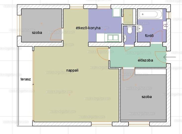 Eladásra kínálunk egy első emeleti 3 szobás, nagy nappalival rendelkező erkélyes lakást saját garázzsal és t�