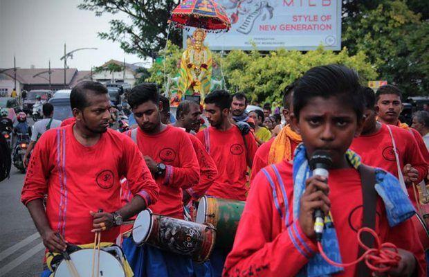 Foto Ritual Umat Hindu Tamil di Banda Aceh