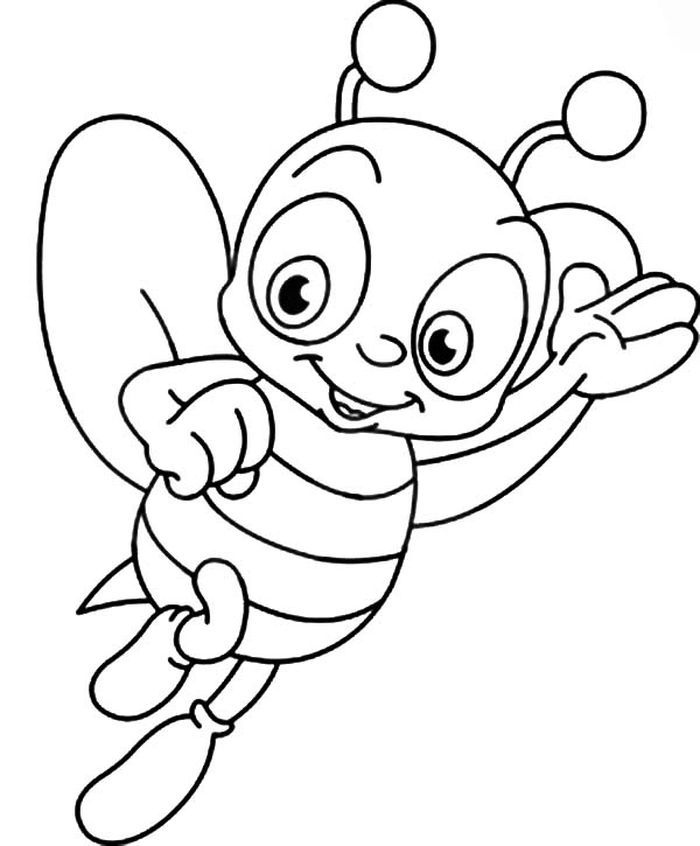 The Bee Gees Coloring Pages Bee Coloring Pages Valentines Day Coloring Page Zebra Coloring Pages