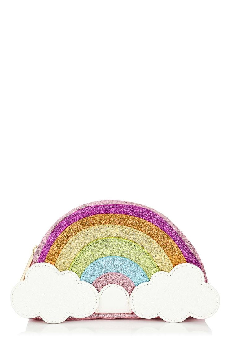 **Rainbow Pencil Case by Skinnydip - Topshop