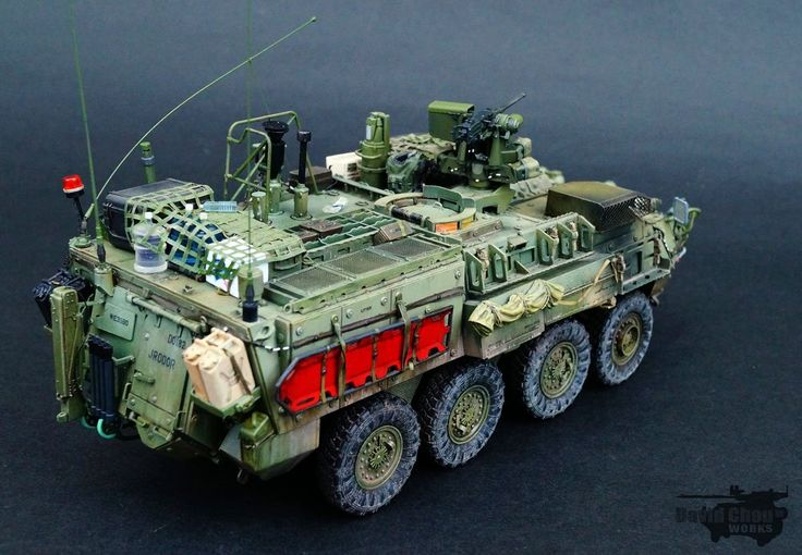 TRACK-LINK / Gallery / M1135 Stryker NBC RV