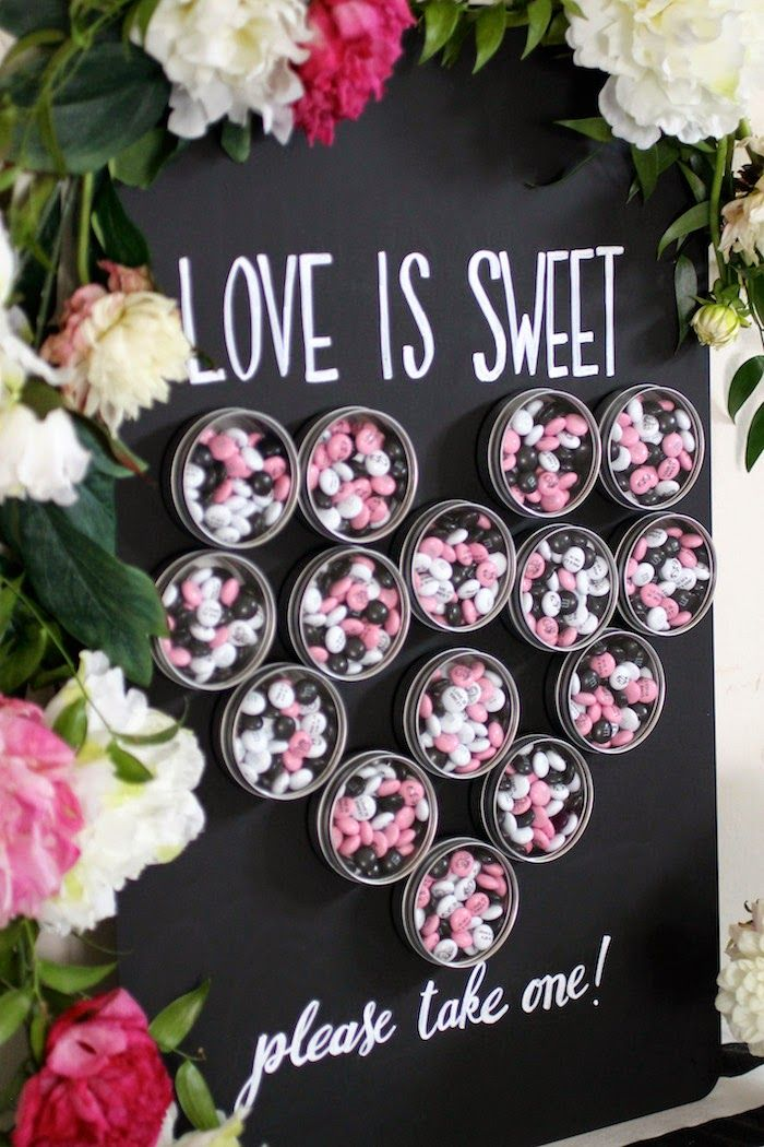craft ideas for bridal shower favors%0A DIY  Magnet Favor Board  Great idea for your next party   showers