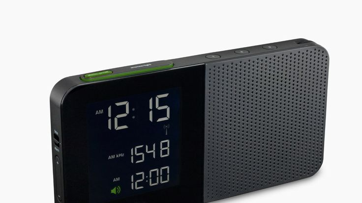 Braun's New Alarm Clock -- I'd say it looks like an iPhone, and it does, because it is BRAUN (and Dieter Rams) that influenced APPLE (and John Ives) design!