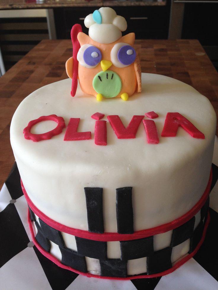 60 Best Images About Kaya Cake On Pinterest Owl Cake
