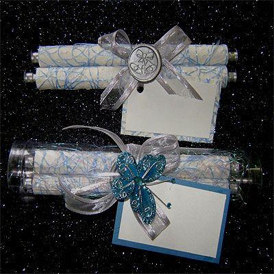Ref Fancy scroll PLS Blue ( we can do any colour) www.weddingcards.co.za
