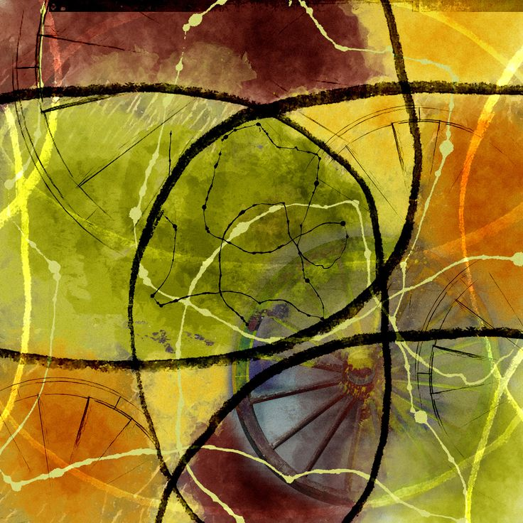 Abstract art digital