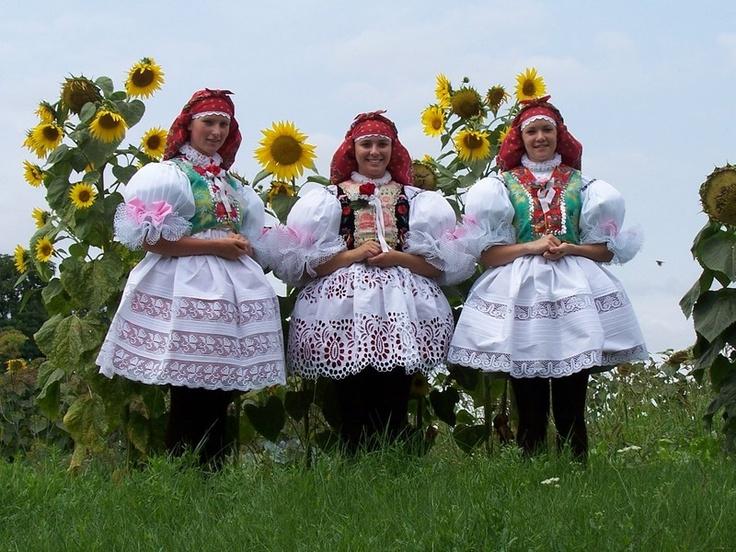 Moravský kroj (Vracovský) Moravian folk costumes
