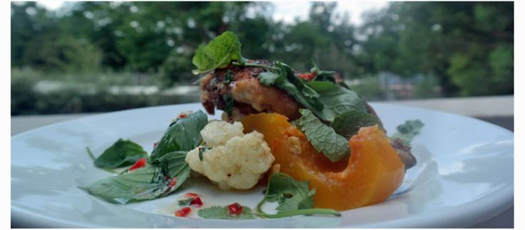 Oven Roasted Chicken with Butternut and Cauliflower - food4four