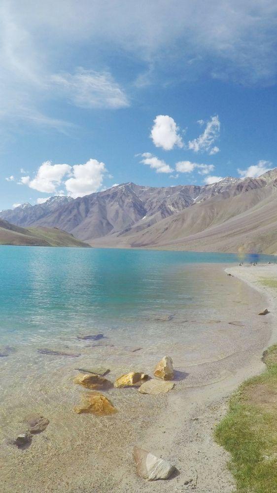 "Chandra Taal or Chandrataal lake is in Spiti Valley, Himachal Pradesh, India. In Hindi, Chandra Taal means ""the moon lake"". Hampta Pass, Manali, Lahaul."