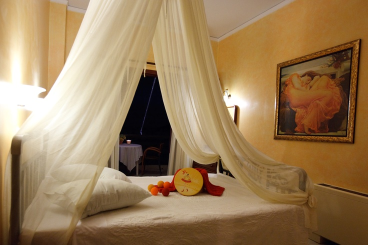 Deluxe double room at Nelly's Hotel Tolo