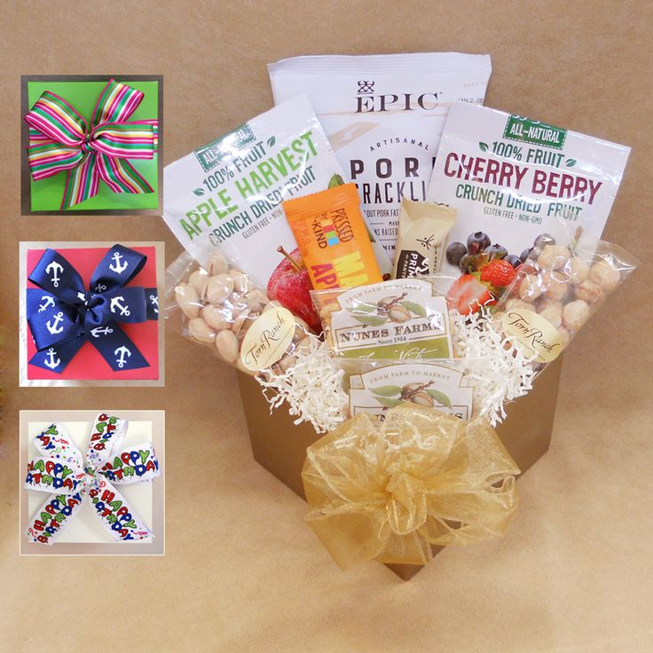 55 best gift archive images on pinterest gift basket gift baskets paleo snacks gift box treat them to their own personal stash snack sized paleo treats including pork cracklings nuts dried fruit and snack bars make a negle Image collections